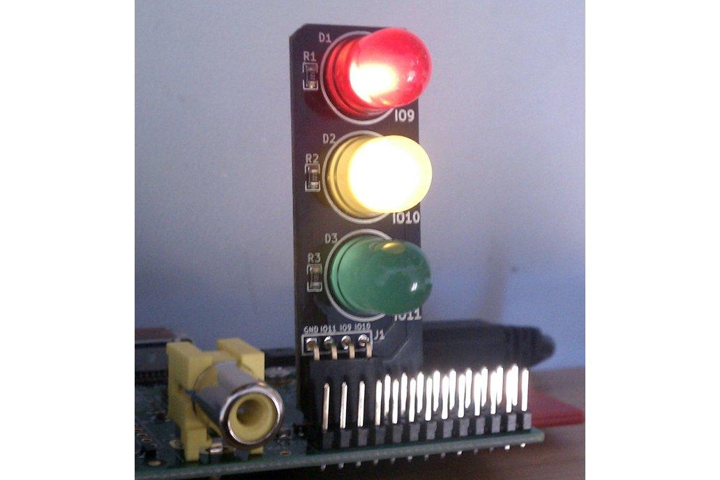 Pi Traffic Light 5