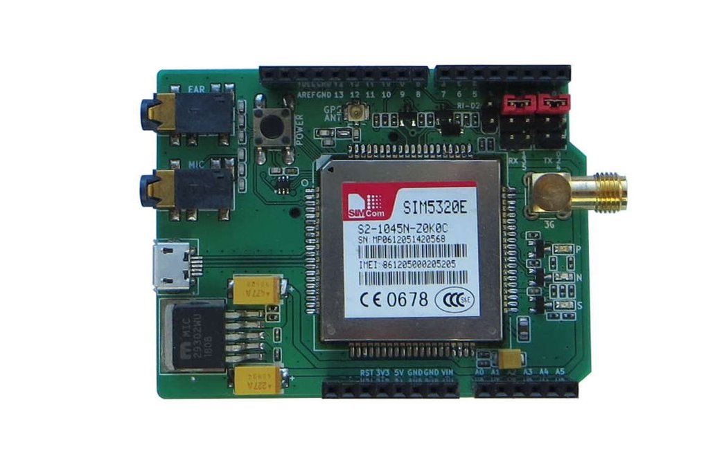 3G/GPS SIM5320(E/A) Arduino Shield 1