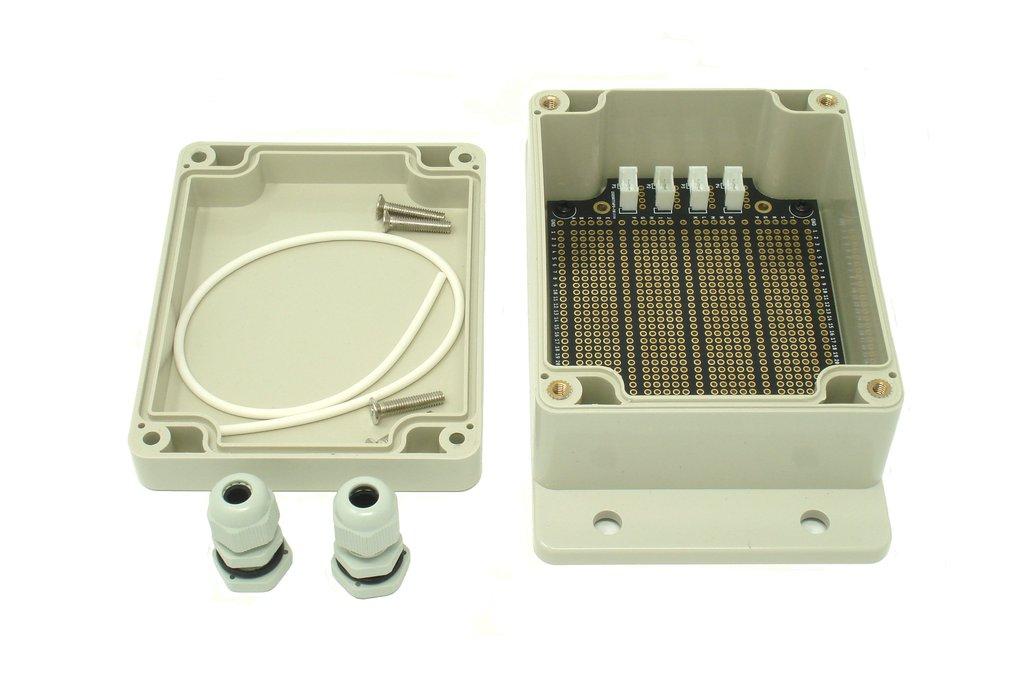 IP65 115mm x 90mm x 55mm Enclosure & Breadboard 1