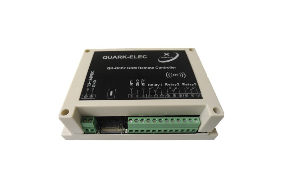 G022 GSM SMS Remote control module with enclosure