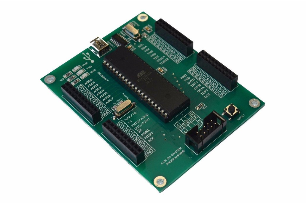 AVR ATMEGA32 Development Board ISP 1