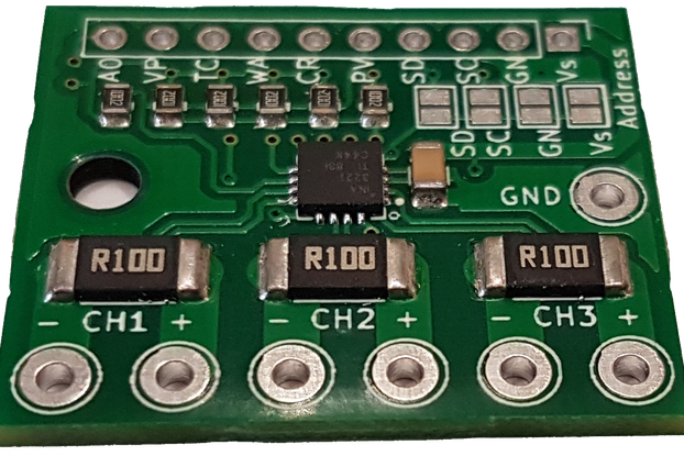 improved INA3221 breakout-3 power supplies-0.1Ohm
