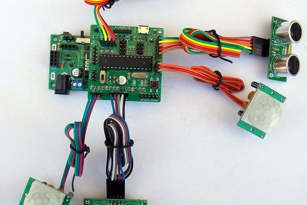 Multi-Sensor Shield for Wireless Development Board