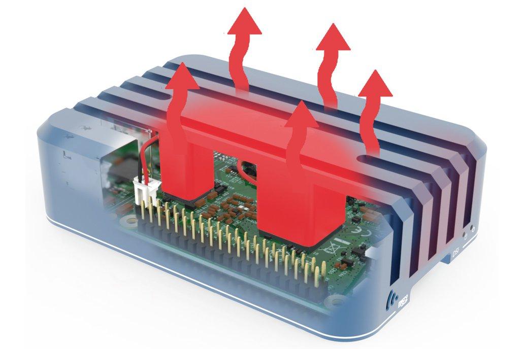 Aluminum Case for Raspberry Pi 3 14