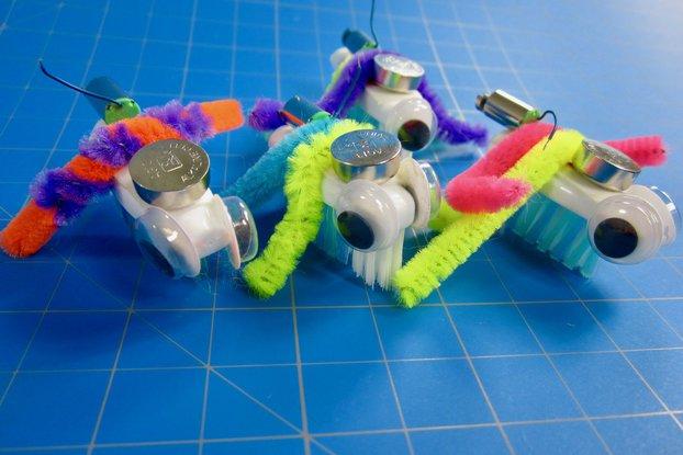 Bristlebot Kits - 4, 10, 25 Packs (Classroom Set)