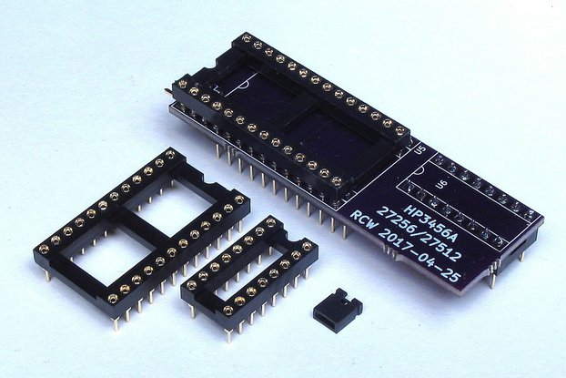 HP3456A EPROM Adapter Board