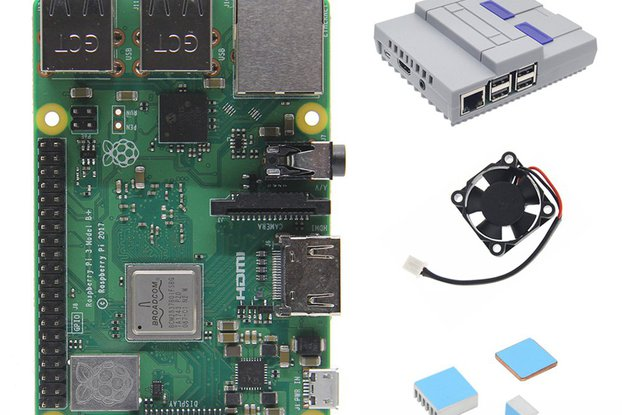 Kit 4 in 1 Raspberry Pi 3 Model B+(plus) Board