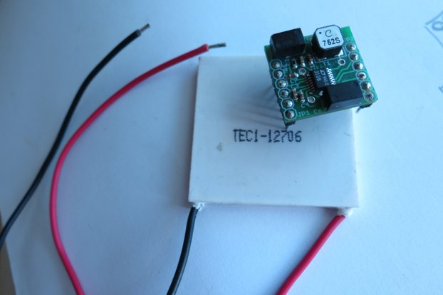 Energy harvesting module LTC3108 Thermal peltier