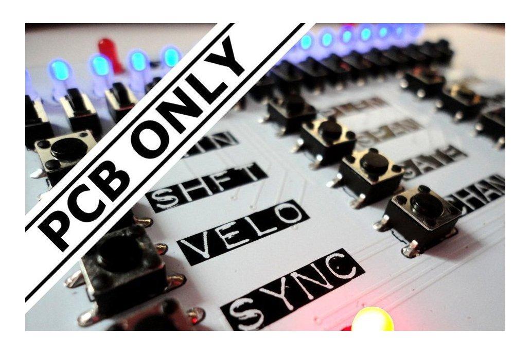 ARPIE MIDI Arpeggiator - PCBs/Microcontroller only 1