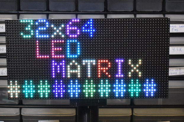 DIY RGB Matrix Display Kit (With Custom Software!)