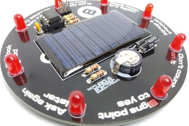 Solar 8 Ball Soldering Kit