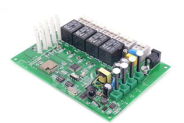 RF Inching/Self-Locking/Interlock Smart Home WIFI