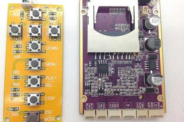 DVR Audio Video SD Camera storage