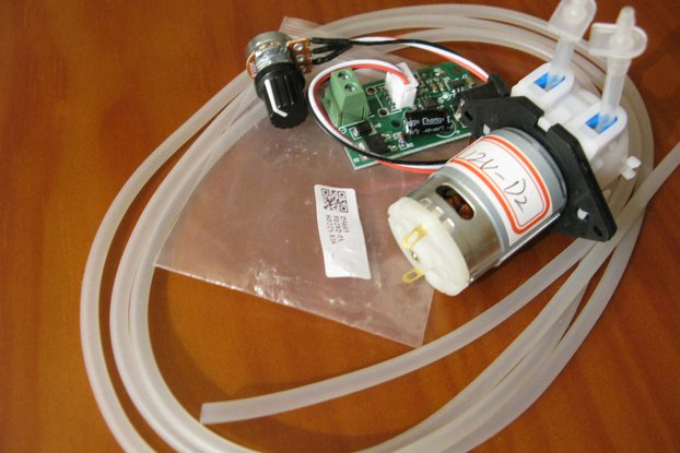 12V Dosing adjustable Peristaltic pump KIT