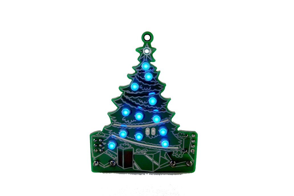 DIY Xmas desktop Tree 13 LED- KIT 1