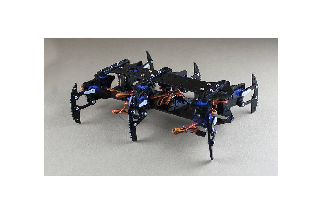 Acrylic Spider Hexapod Robot Kit 1