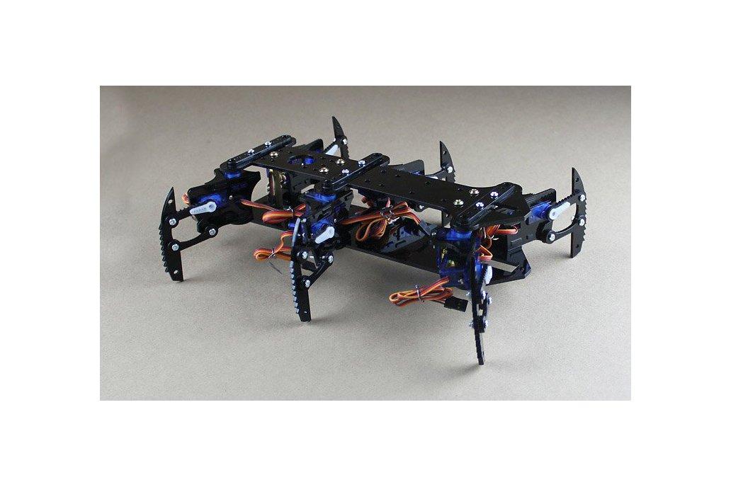 Acrylic Spider Hexapod Robot Kit 1