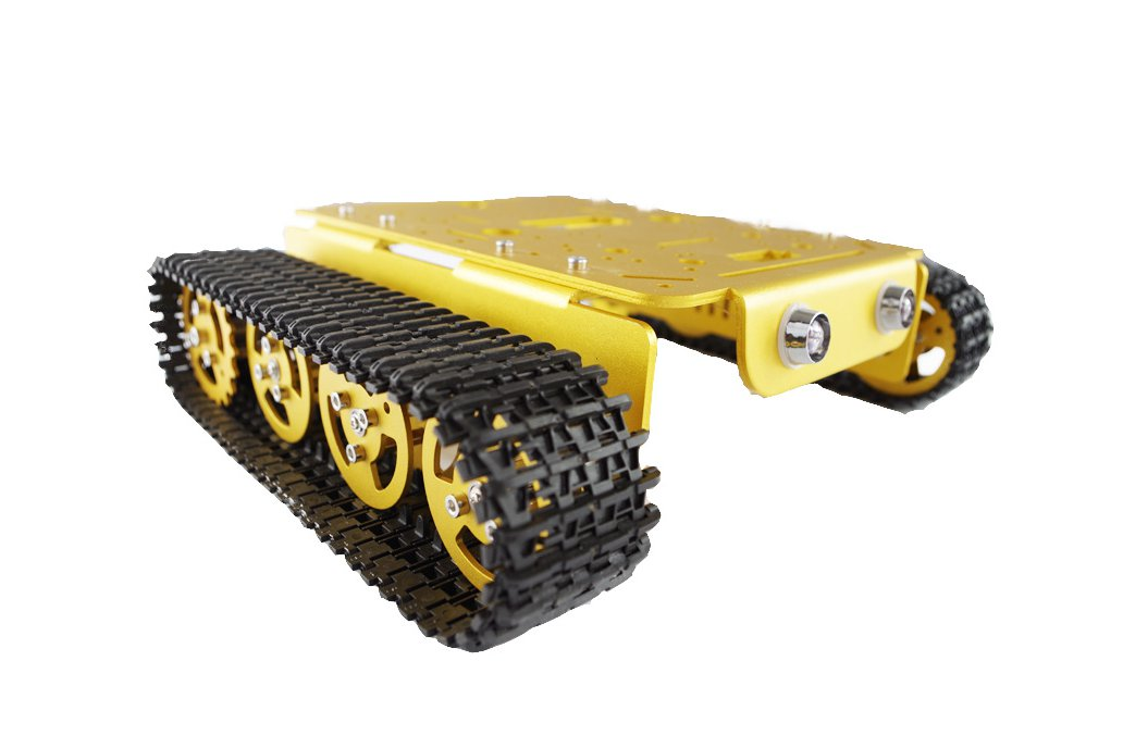 T200 Metal Robot Tank Car Chassis 1