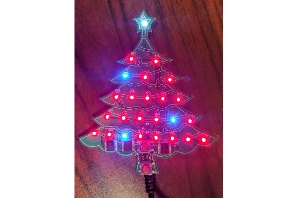 LED Christmas Tree Advent Calendar PCB 1