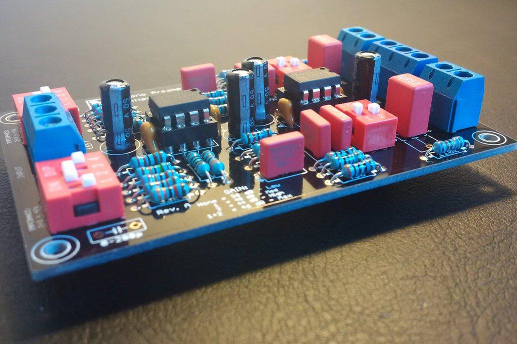 Muffsy Phono Preamp - Kit 1