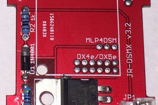 DSM2 / DSMX Module Carrier For OpenTX Radios