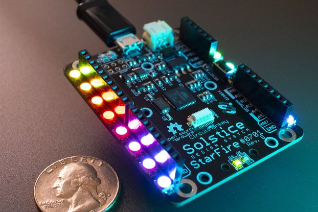 Solstice StarFire 32U4 Microcontroller Module