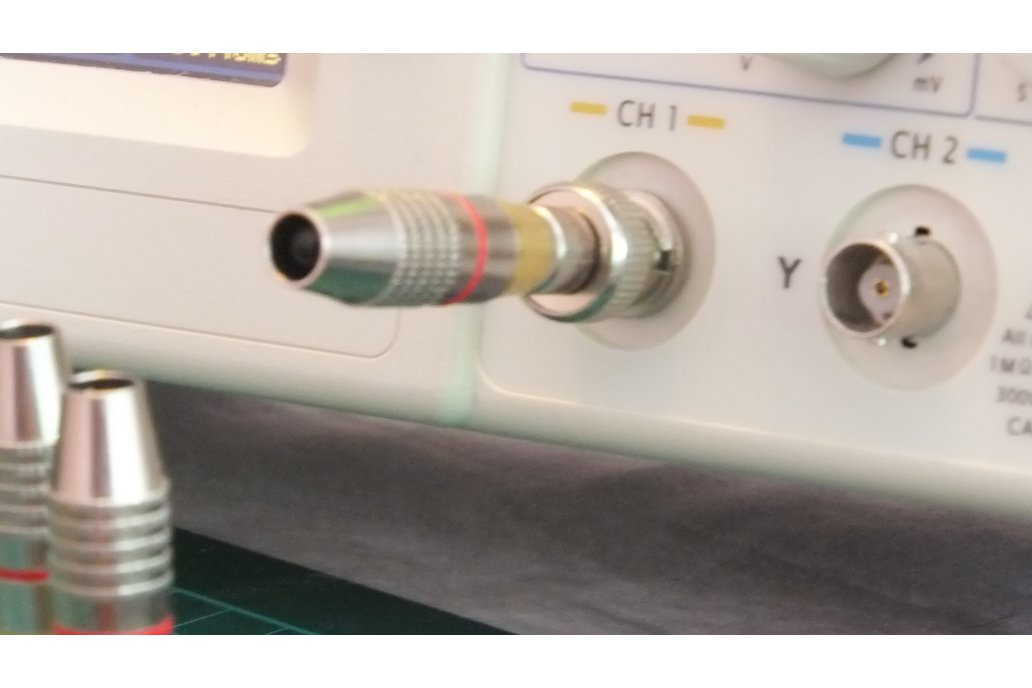 Silver bullet – Oscilloscope Infrared Receiver(IR) 1
