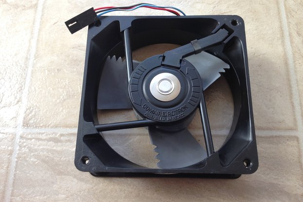 "48VDC  4.7""x1.5"" Brushless Fan (Creltek Surplus)"
