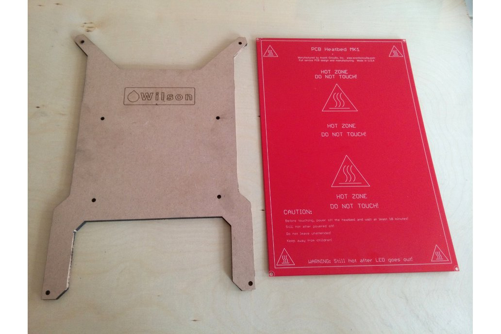 PCB Heatbed for 3D printers 200 x 300mm 8