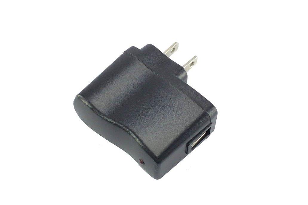 Universal AC-DC 5V USB adapter 500mA US-plug 3