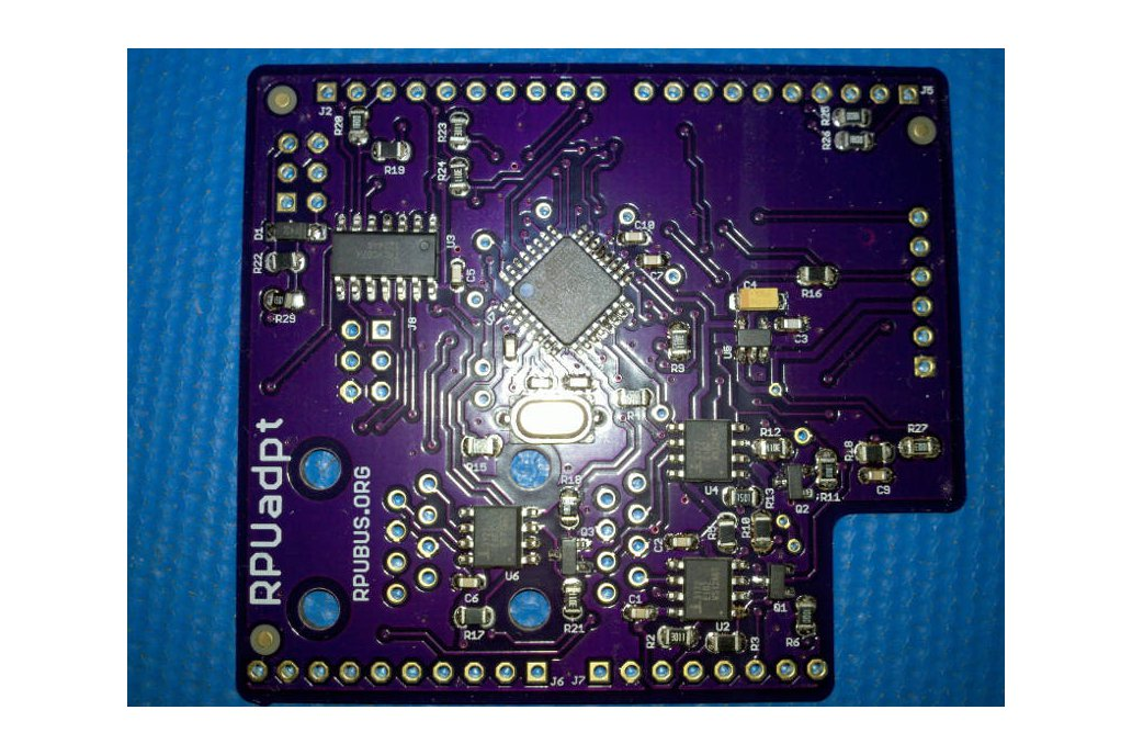 RPUadpt - a shield for RS-422 over CAT5 2
