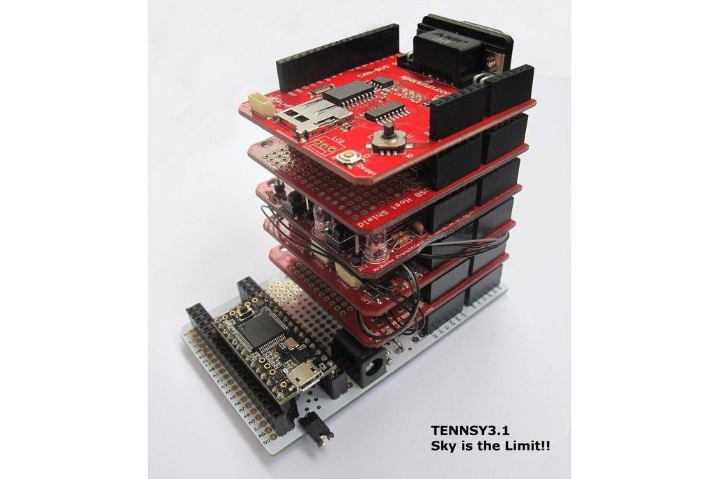 Teensy 3* Proto Board & Arduino Shield V1.1 3