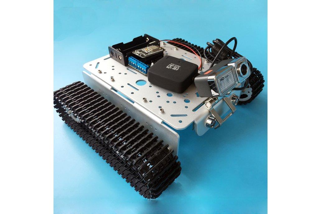 Video RC WIFI  Metal Robot Tank Chassis 6