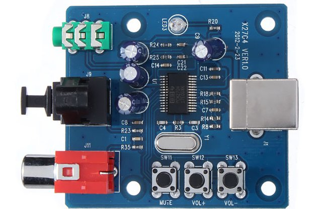 Sound Card Analog Output Decoder Board