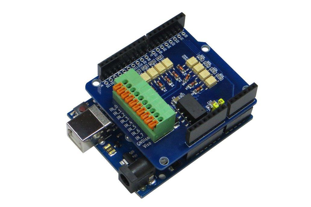 Digital Input Isolated (Arduino UNO Shield) 1