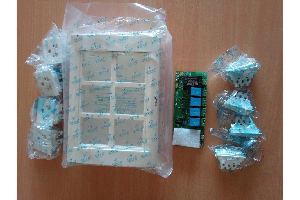 Node MCU ESP8266 WIFI board 4 Relay iot with case 10