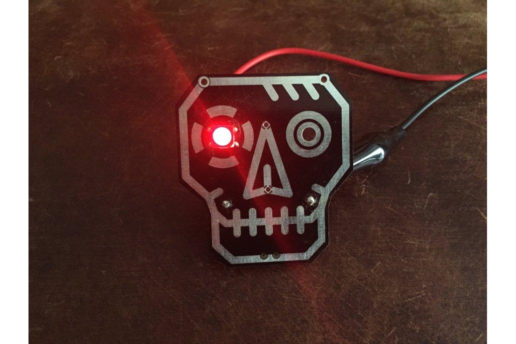 RoboSkull Badge aka Terminator Badge 1