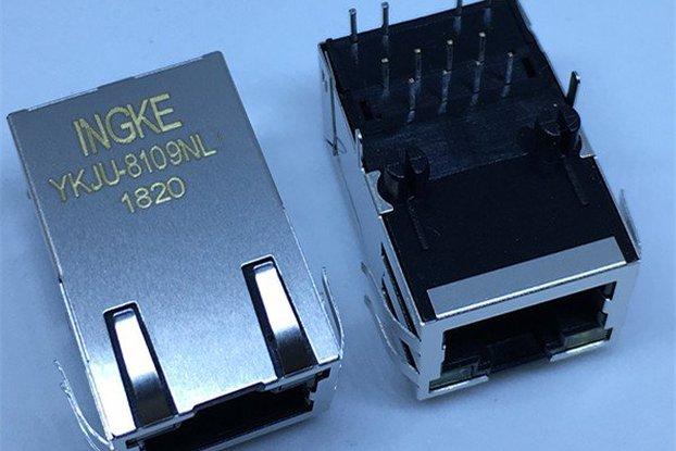 J1012F21CNL 1 Port RJ45 Magjack Connectors