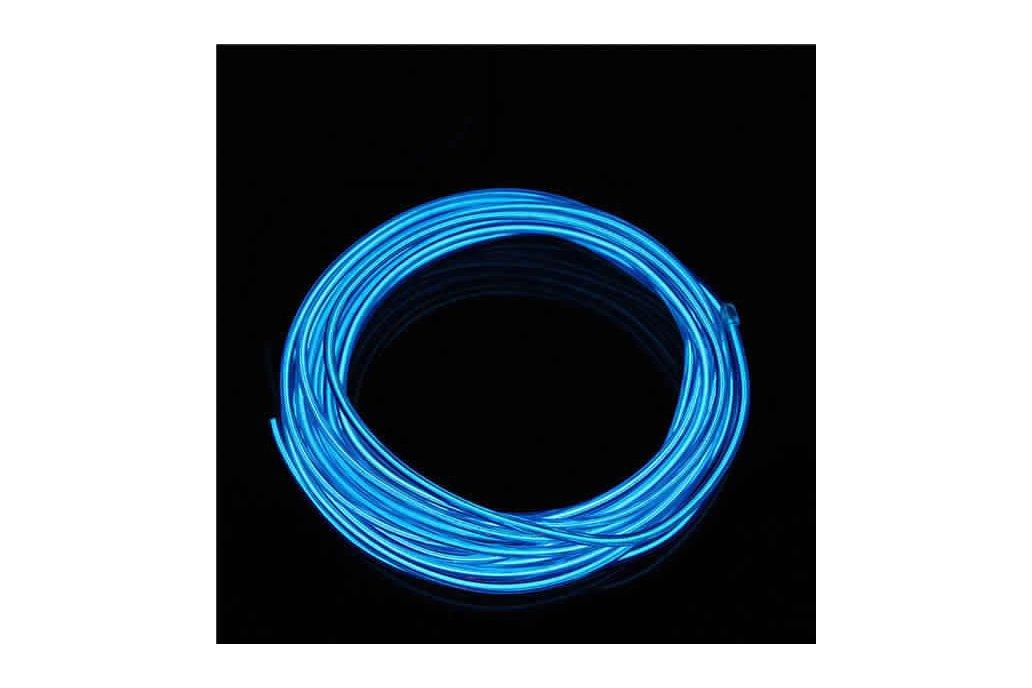 4M 10 colors 3V Flexible Neon EL Wire Light Dance  9