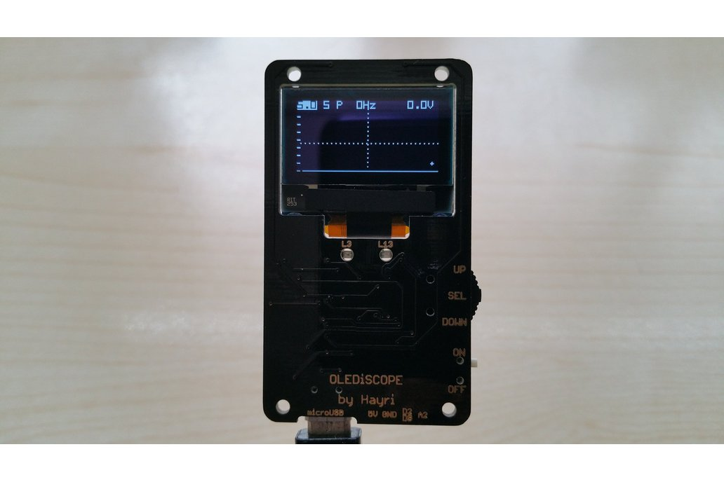 OLEDiSCOPE an Oscilloscope for your pocket 5