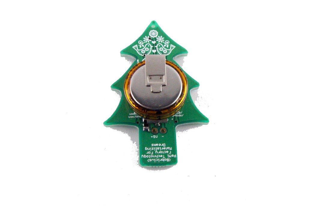 USB & Supercapacitor powered LED Xmas tree - KIT 5