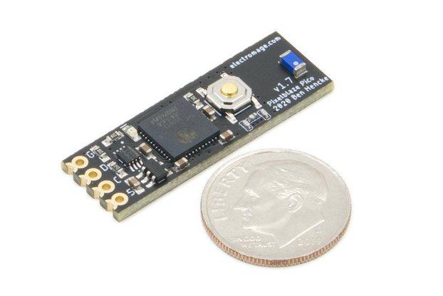 Pixelblaze V3 Pico - Tiny WiFi LED Controller