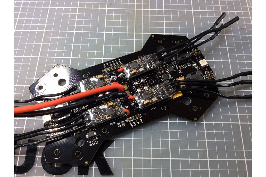 CleanHawk 250 Quadcopter Power Distribution Board 8