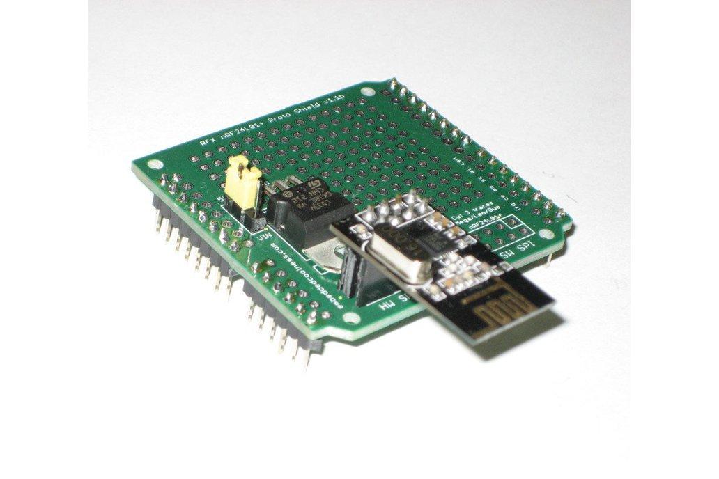RFX nRF24L01+ Proto Shield (Kit) 1