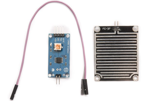 Humidity sensor with LM393