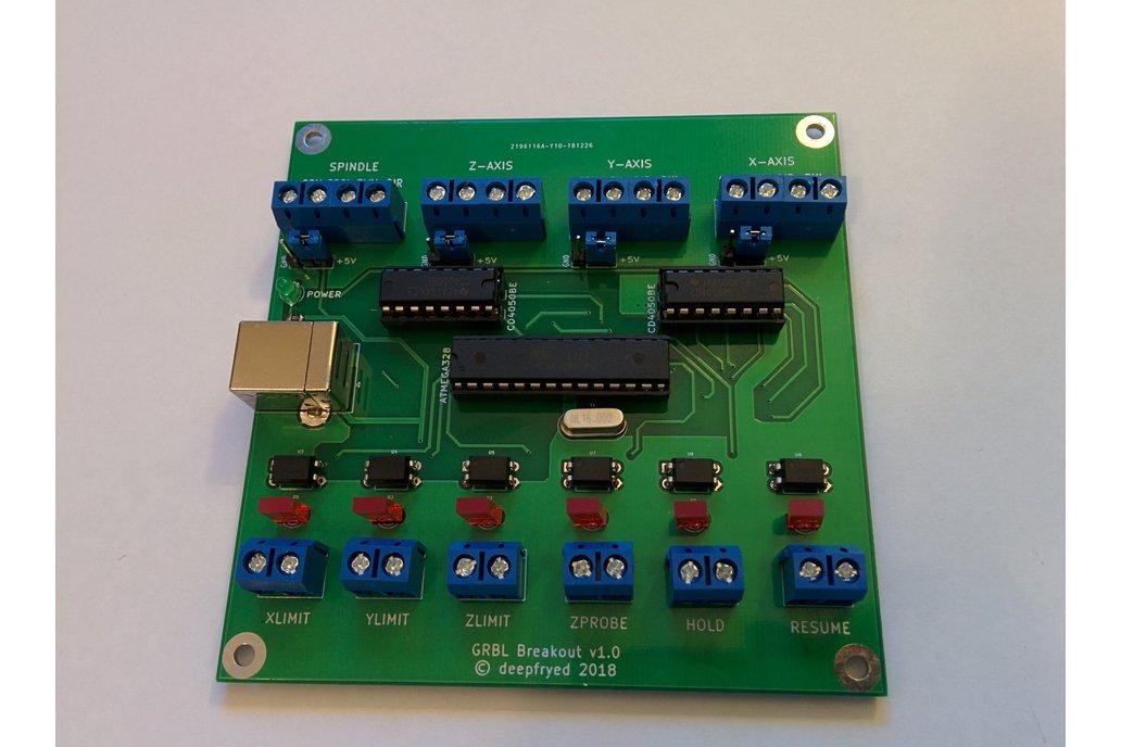 Arduino GRBL 3-Axis breakout board 1