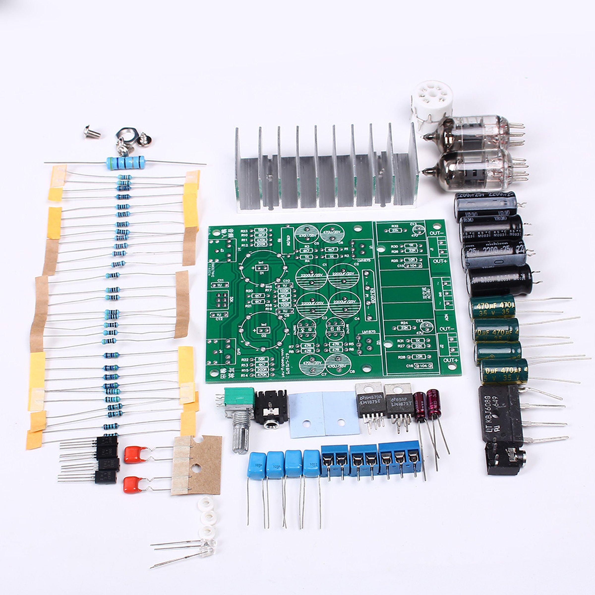 diy hybrid power amplifier board lm1875t 12008 from icstation on tindie. Black Bedroom Furniture Sets. Home Design Ideas