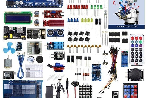 Ultimate Starter Kit for Arduino W/MEGA 2560 R3