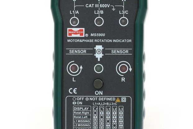 MASTECH Non-contact Motor Rotation Indicator Meter