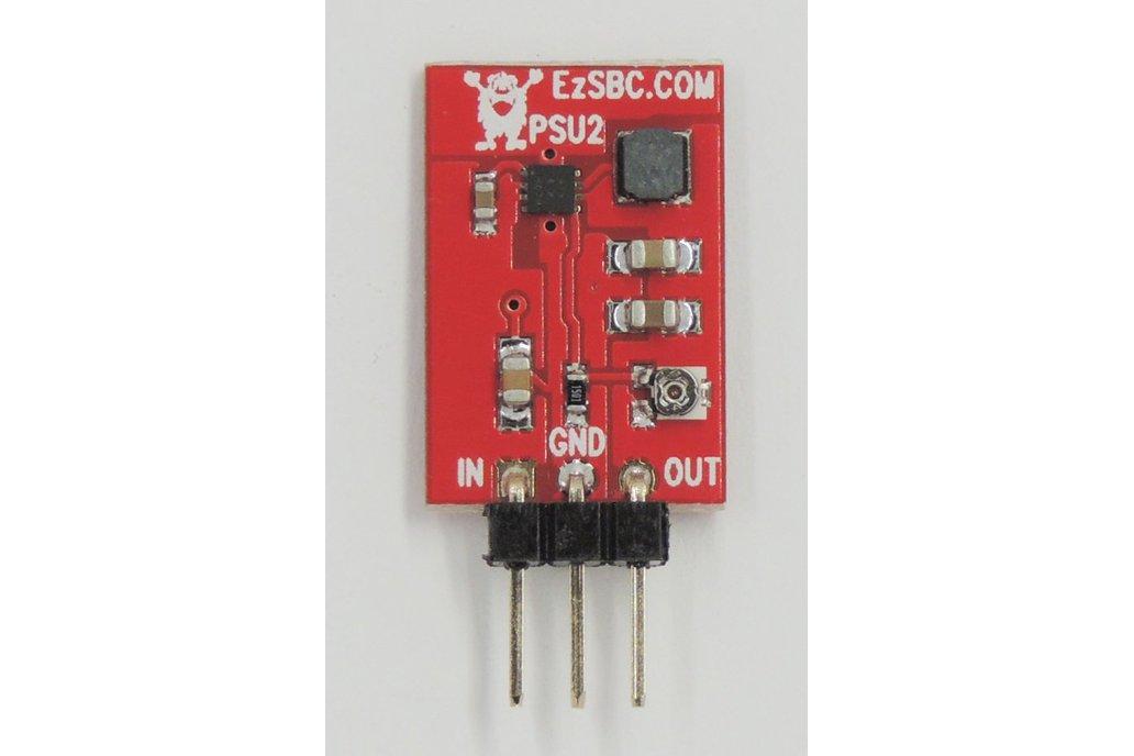 1A Adjustable 3-Pin Switch-Mode Voltage Regulator 1